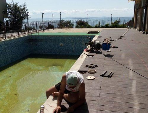 Ремонт на басейн в гр. Равда